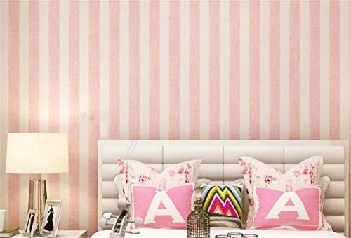 パステルカラーのボーダー柄は、ポップで明るい気分になれそう♪大人用はもちろん、子供部屋にもぴったりです。はがせる壁紙なら、ちょっと大胆な模様替えにも気軽にトライできるのが嬉しいですね。  #壁紙シール #ボーダー柄 #ピンク
