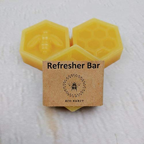 Refresher Bar For Beeswax Food Wraps, Premixed With Jojoba Oil and Resin