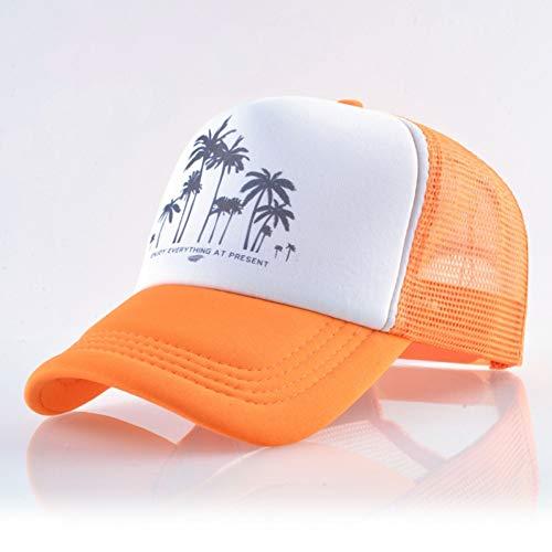 FXSYL Hysteresenhut-Baseballmütze-Sommer-im Freiensport-Hüte für Mann-Frauen-Mode-Fernlastfahrer-Kappen-Jungen-Mädchen-Hip Hop-Skateboard,A1