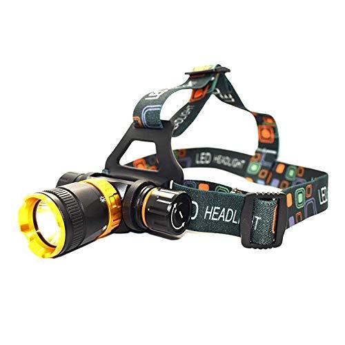 Lampes frontales Phare de plongée sous-marine torch5 Mode Head Lamp Underwater Waterproof HeadLight