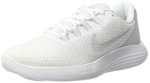 Nike Women's Lunarconverge White/Pure Platinum - Wolf Grey Ankle-High Running Shoe 7M