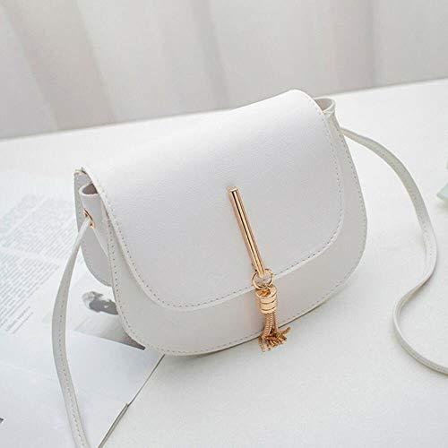 LLine Crossbody-tassen voor dames Mode-tas PU-lederen clutch Kleine schoudertas Dames Dames Handtassen Tassen voor dames, wit