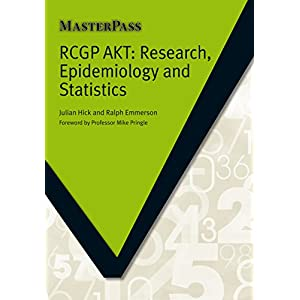 RCGP AKT: Research, Epidemiology and Statistics Kindle Edition