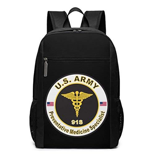 BGKO Us Army Mos 91s Spezialist für Präventivmedizin Langlebiger Multifunktionsrucksack 17 Zoll