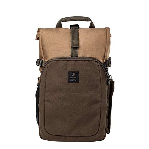 Tenba Fulton 637-722 - Mochila (10 L), Color marrón y Verde