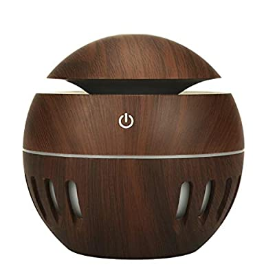 Celiy Air Aroma Essential Oil Diffuser LED Ultrasonic Aroma Aromatherapy Humidifier, Home Garden 4th of July Gifts