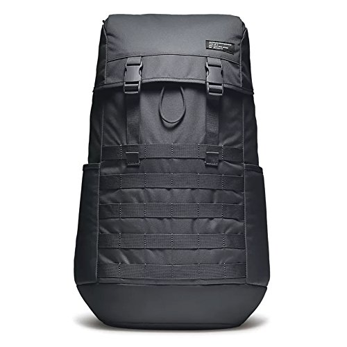Nike Nk AF-1 Bkpk, Mochila Unisex Adultos, Negro (Black/Black/Black), 56 cm