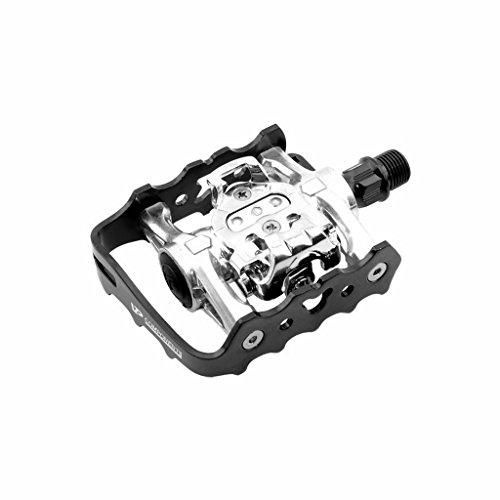 Vp Components - W920 . Pedales Automaticos por Una Cara y Normales Otra Mixtos Cala Shimano Bici Bicic
