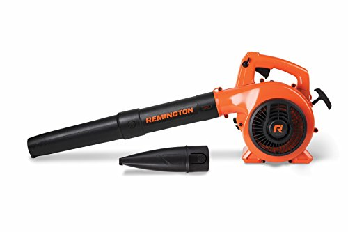 Remington RM430 Hero 25cc 2-Cycle Engine Gas Powered Leaf Blower - Handheld Gasoline Blower for Lawn Care, Orange