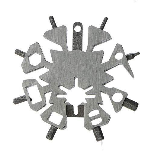 ZTBXQ Wohnaccessoires Bogenschießen Schneeflocke Multi Tool Multitool Tragbare Bogen Pfeil Reparaturschlüssel Schraubenschlüssel Schaber Werkzeug Jagd