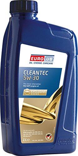 EUROLUB CLEANTEC SAE 5W-30 Motoröl, 1 Liter