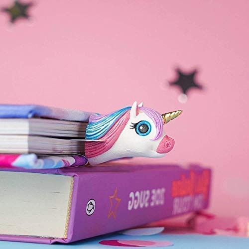 Glam Unicorn Bookmarks For Women - 3D Bookmark Unicorn Gifts For Girls. Cute Bookmarks - Unique Book Gifts For Birthday Truly Handmade & Crafted With Love