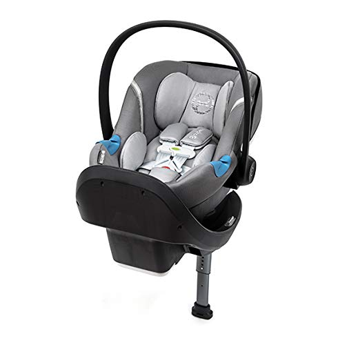Cybex Aton M Infant Car Seat with SensorSafe, Manhattan Grey,Standard Louisiana