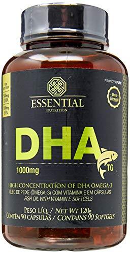 DHA TG - 90 Cápsulas, Essential Nutrition