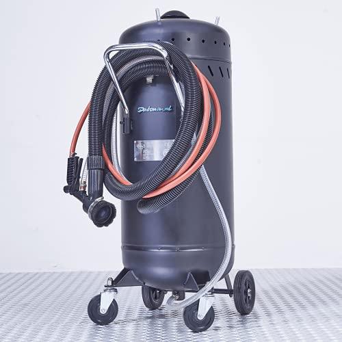 Mobiles Sandstrahlgerät mit Absaugung - 80 Liter