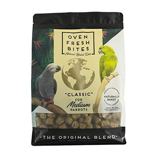Price comparison product image Oven Fresh Bites Natural Baked Avian Diet,  Nutritional,  Whole Grain,  Medium Parrot,  28 Oz. Bag