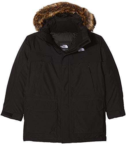 THE NORTH FACE Jungen Daunenparka Mcmurdo, Tnf Black, L, T93ODVJK3