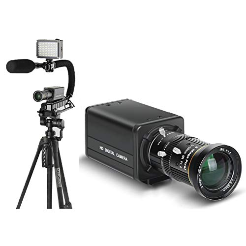 YSY-CY 8x Cámara digital de Zoom Digital Cámara de video con Full HD 1080P (Negro) + Lente de teleobjetivo + Lente de enfoque corto +...