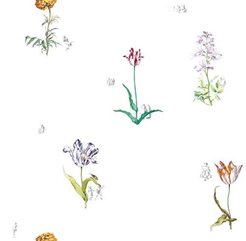 Sommerliche Tulpen Tapete
