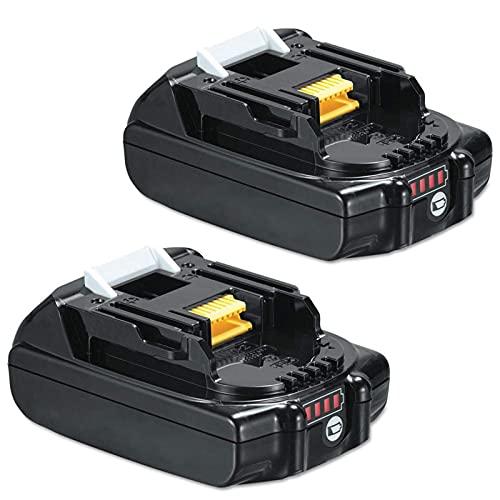 BL1830 18V 3.0 AH batería Recargable de Iones de Litio para Makita BL1815 BL1830 BL1840 BL1850 BL1860 LXT400 Herramientas eléctricas, Batería, YLLLLY-6686