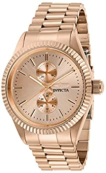 Invicta Men s Specialty Quartz Watch with Stainless Steel Strap Rose Gold 22  Model  29436
