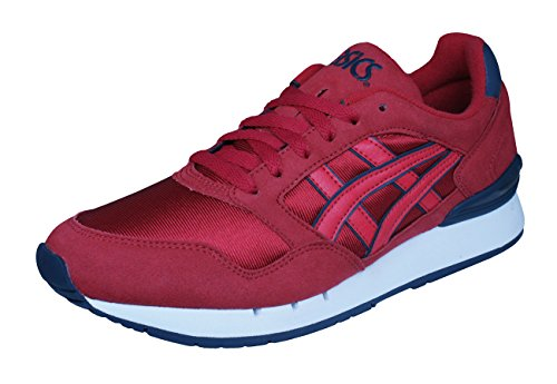 ASICS Gel Atlantis Unisex Running Sneakers/Shoes-Red-5