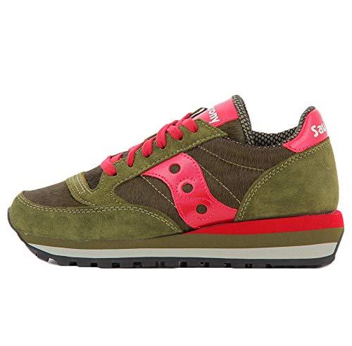 Saucony Jazz Triple W SMU Sneaker Donna 60497 10 Grey Jester (Numeric_38_Point_5)