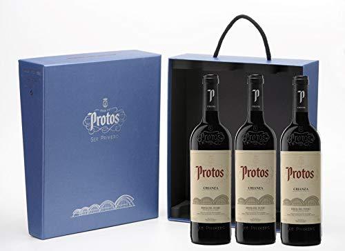 Protos Crianza, Estuche Vino Tinto 3 botellas 75cl