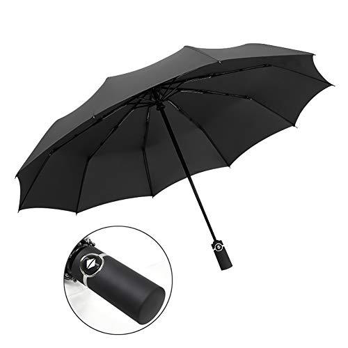 TAOZYY Paraguas Plegable De Viaje Paraguas De Golf, Ligero 10 Costillas Toldo...