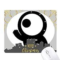 エイリアンエイリアン宇宙怪物・サイクロプス クリスマスイブのゴムマウスパッド