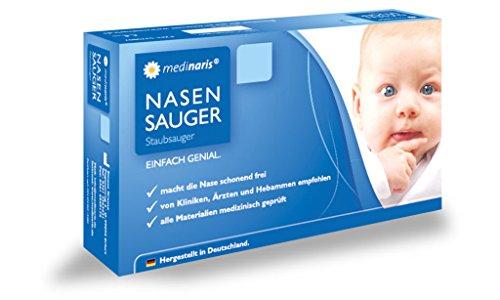 Medinaris Nasensauger schnelle Hilfe für verstopfte Baby Nasen (Für Standard Staubsauger)