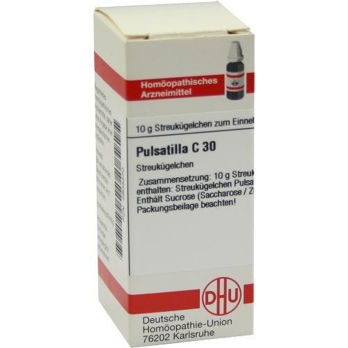 PULSATILLA C30 Globuli 10g DHU 2803370