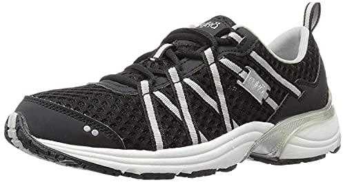 Ryka Women's Hydro Sport Water Shoe, Black/Silver, 8.5 M US