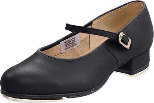 Bloch womens Tap-on dance shoes, Black, 8.5 US