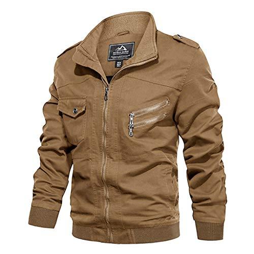 iymitz mens jackets casual bomber