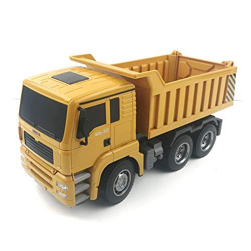 RC Auto kaufen Baufahrzeug Bild 3: RC-Muldenkipper, 1:16 Allradantrieb-Fernbedienung Muldenkipper-LKW, schweres Baufahrzeug, Hobby-Spielzeug - Geschenk für Kinder , Maximale Belastung: ca. 1 kg*