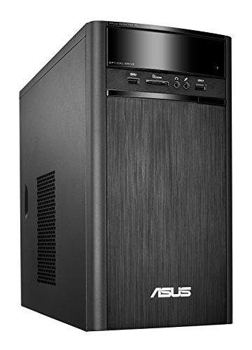 Asus K31AM-J-SP004T - Ordenador de sobremesa (Intel Celeron J1800, 4 GB de RAM, HDD de 500 GB, tarjeta gráfica integrada, Windows 10 Original), Negro - Teclado QWERTY Español