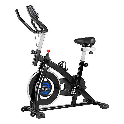 Bicicleta de Ejercicio,Bicicletas de Spinning, Bicicleta Estatica para Fitness, Manillar y Asiento Ajustables para Personas de Diferentes Estatura