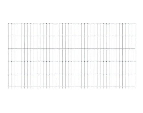 GAH-Alberts 160 cm Doppelstabmatte 2 m Drahtstärke 6-5-6 in feuerverzinkt