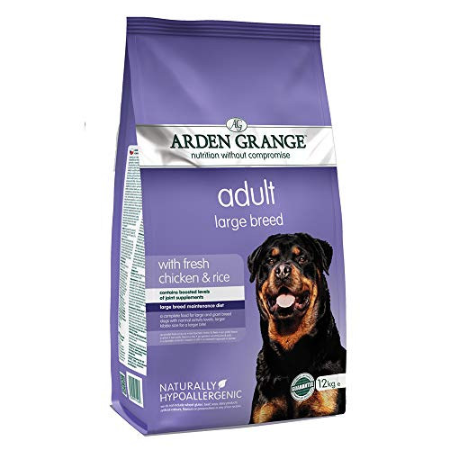 Arden Grange Adult Large Breed Dry Dog Food with Fresh Chicken and Rice, 12 kg