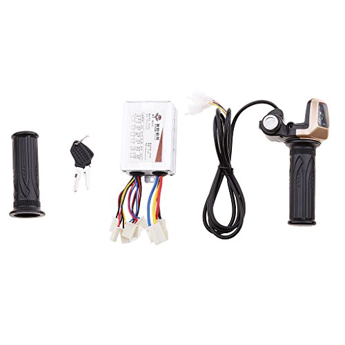 Sharplace Gasgriff Elektro und Bremshebel Satz für Elektrofahrrad - # 5 36v 800w