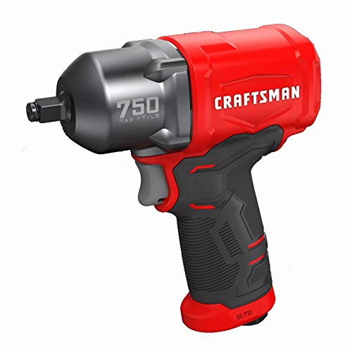 CRAFTSMAN CMXPTSG1003NB Air Impact Wrench, Red and Black
