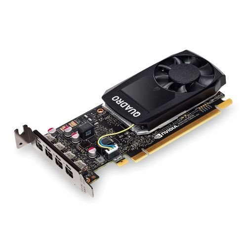 Desconocido None PNY Quadro P1000 - Tarjeta gráfica Profesional (4 GB, DDR5, 4 miniDP 1.2 (4 adaptadores DVI), Perfil bajo