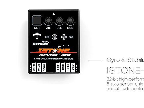 DYNAM Detrum IstoneAcro 6-Axis Gyro Gyroscope RC Model Airplane Flight Attitude Control System