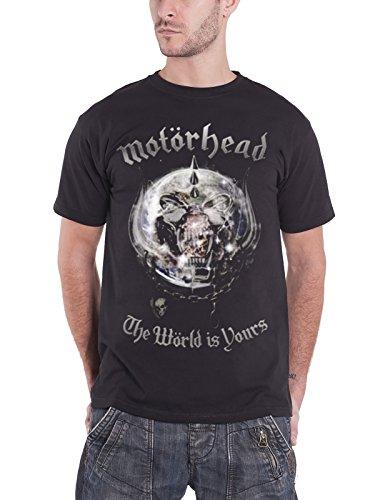 The World is Your Album (Black) T-Shirt l