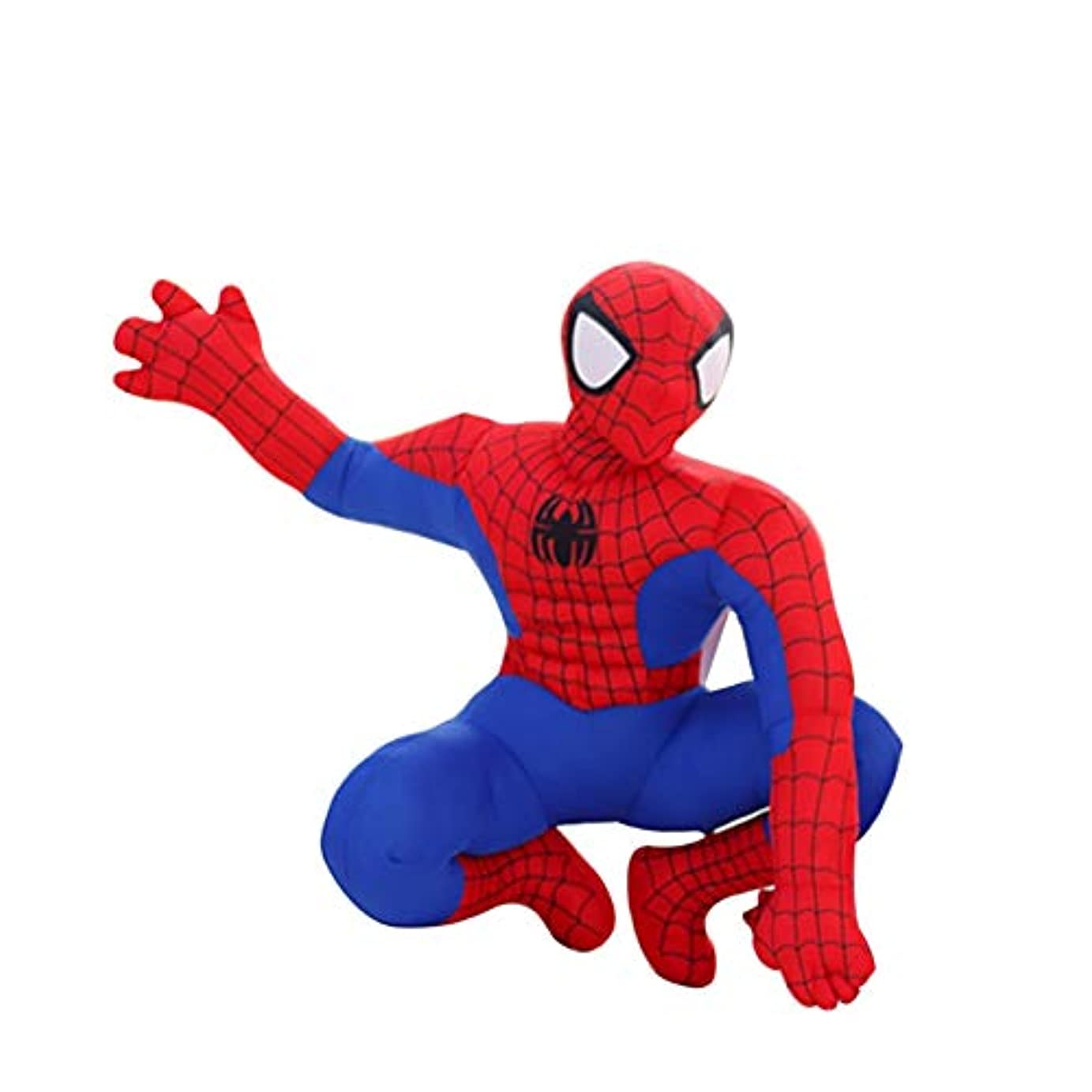 ペースパネル見えるぬいぐるみ 30センチスパイダーマンぬいぐるみアクションフィギュアコレクタブルモデルおもちゃ漫画スパイダーマンぬいぐるみ男の子キッズドール 抱き枕