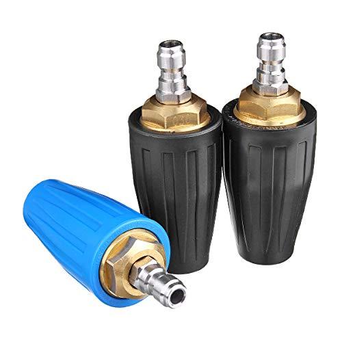 Viviance ZHVIVY 3000/3600 / 4000PSI Rotierende Turbodüse 1/4 '' Schnellkupplungs - Hochdruckreiniger - Spray - 040