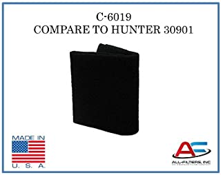 AF Compatible Hunter Air Purifier Carbon Replacement Pre-Filter for Models 30901, 30903, 30907, 30958, and 30959