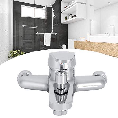 PYROJEWEL Sistema de Ducha termostática, Hogar BañoBañera montado en la Pared Grifo de la Ducha Triple Grifo Mezclador G1 / 2 Pulgadas (Triple Tipo)