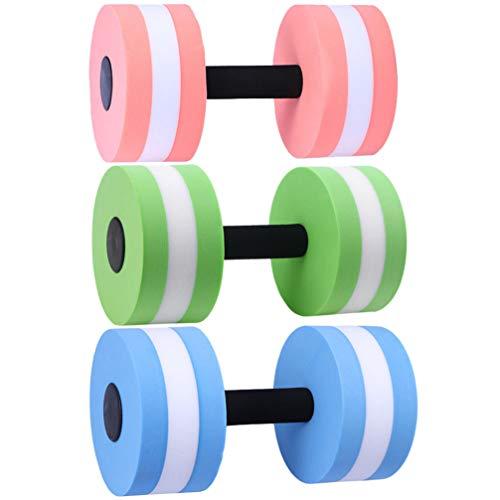 BESPORTBLE Aqua Hantel Schaum Resistenz Fitnessgeräte Geringe Auswirkung Übung Gewicht Zubehör Wasser Aerobic Schwimmbad Widerstand Trainingsausrüstung 3St